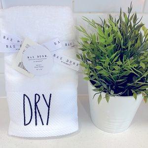 "Rae Dunn ""Dry"" handtowels"